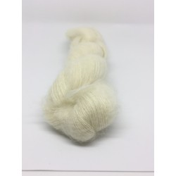 75% Ultrafine Kid Mohair 25% Nylon